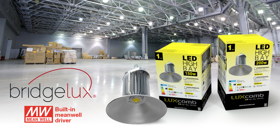 LUXCOMB LED HIGH BAY 150-200W